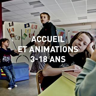 accueil et animations 3-18 ans