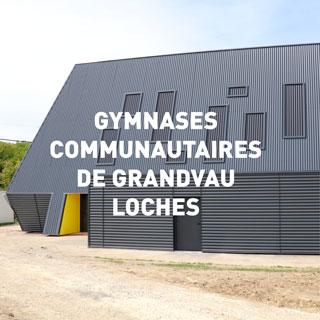 Gymnases communautaires de Grandvau Loches