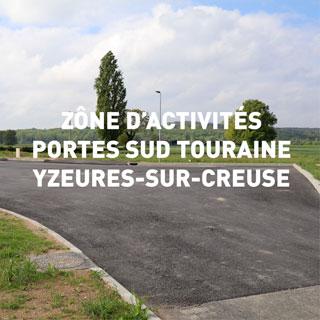Zône d'activités Portes Sud Touraine Yzeures-sur-Creuse